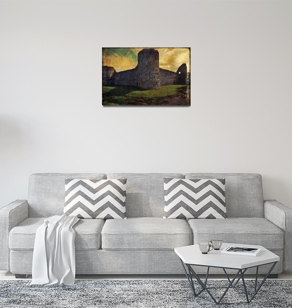 """""""Pevensey Ruin""""  (2010) by ChrisLord"""