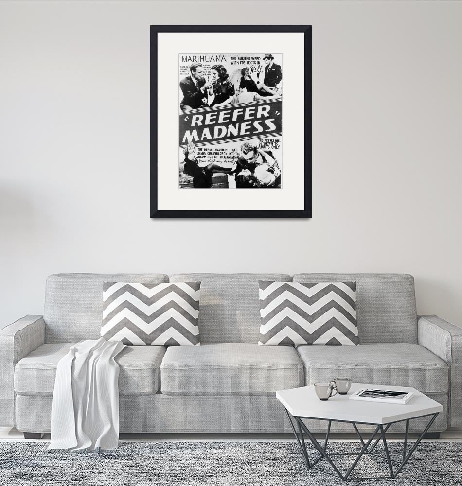 """""""reefer madness vintage movie poster""""  by FineArtClassics"""