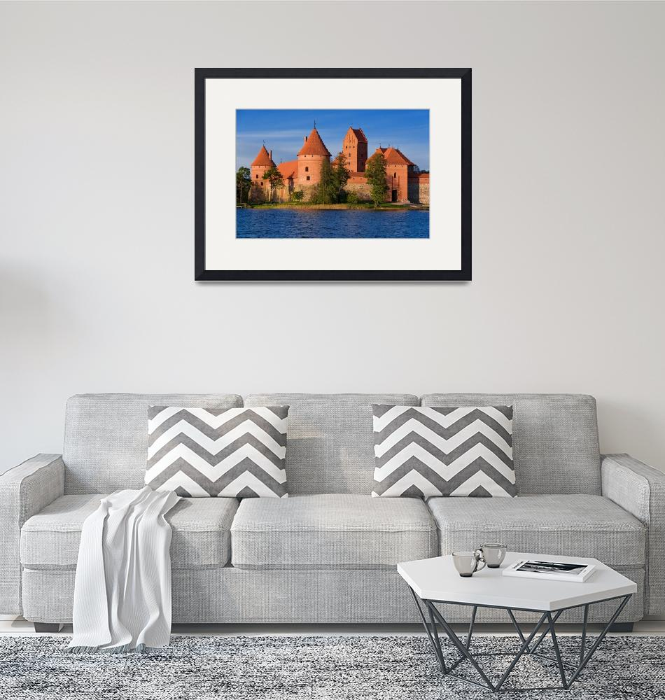 """Trakai Castle""  (2007) by linask"