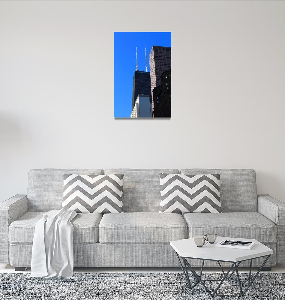"""""""Chicago Skyscrapers 2012 #4""""  (2012) by Ffooter"""