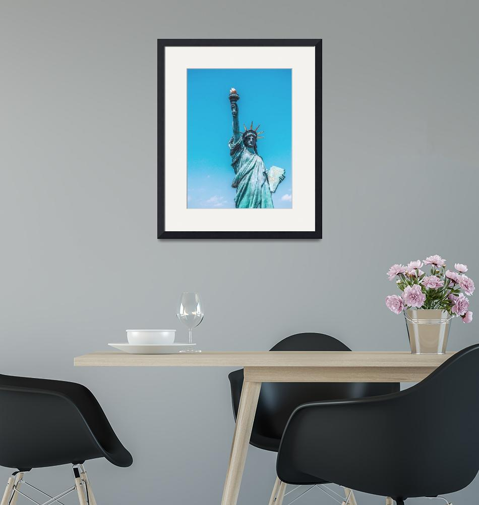 """""""The Statue of Liberty in New York City 2""""  by motionage"""