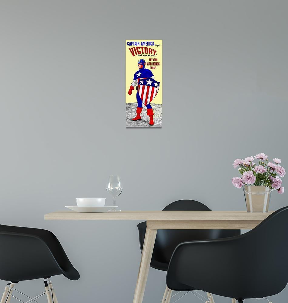 """""""Captain America WWII War Bonds""""  (2014) by Automotography"""