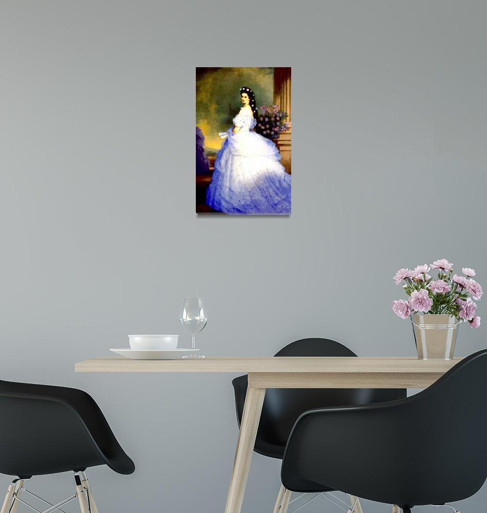 """Empress Sisi 4""  (2010) by bandtdigitaldesigns"