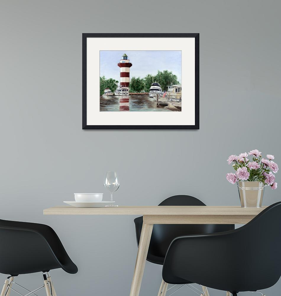 """""""Harbour Town Light""""  by Randall"""