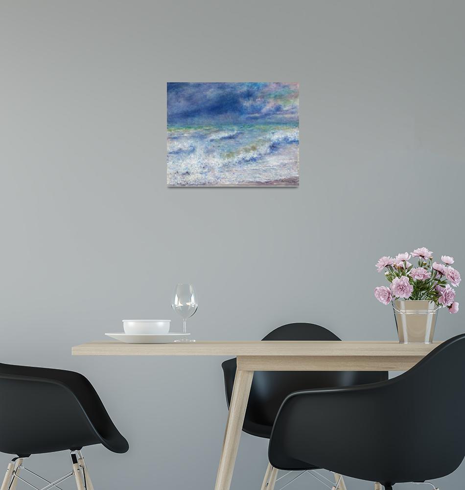 """""""Seascape by Renoir""""  by FineArtClassics"""