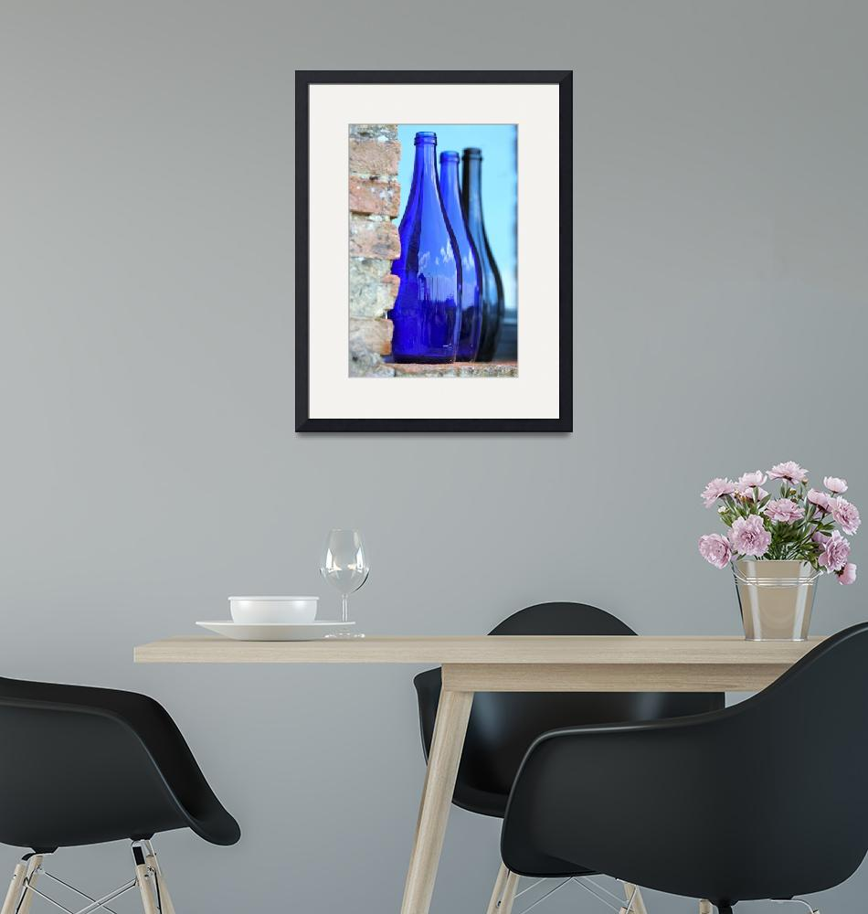"""""""Tuscan Blue Reflections""""  (2010) by nadinerippelmeyer"""
