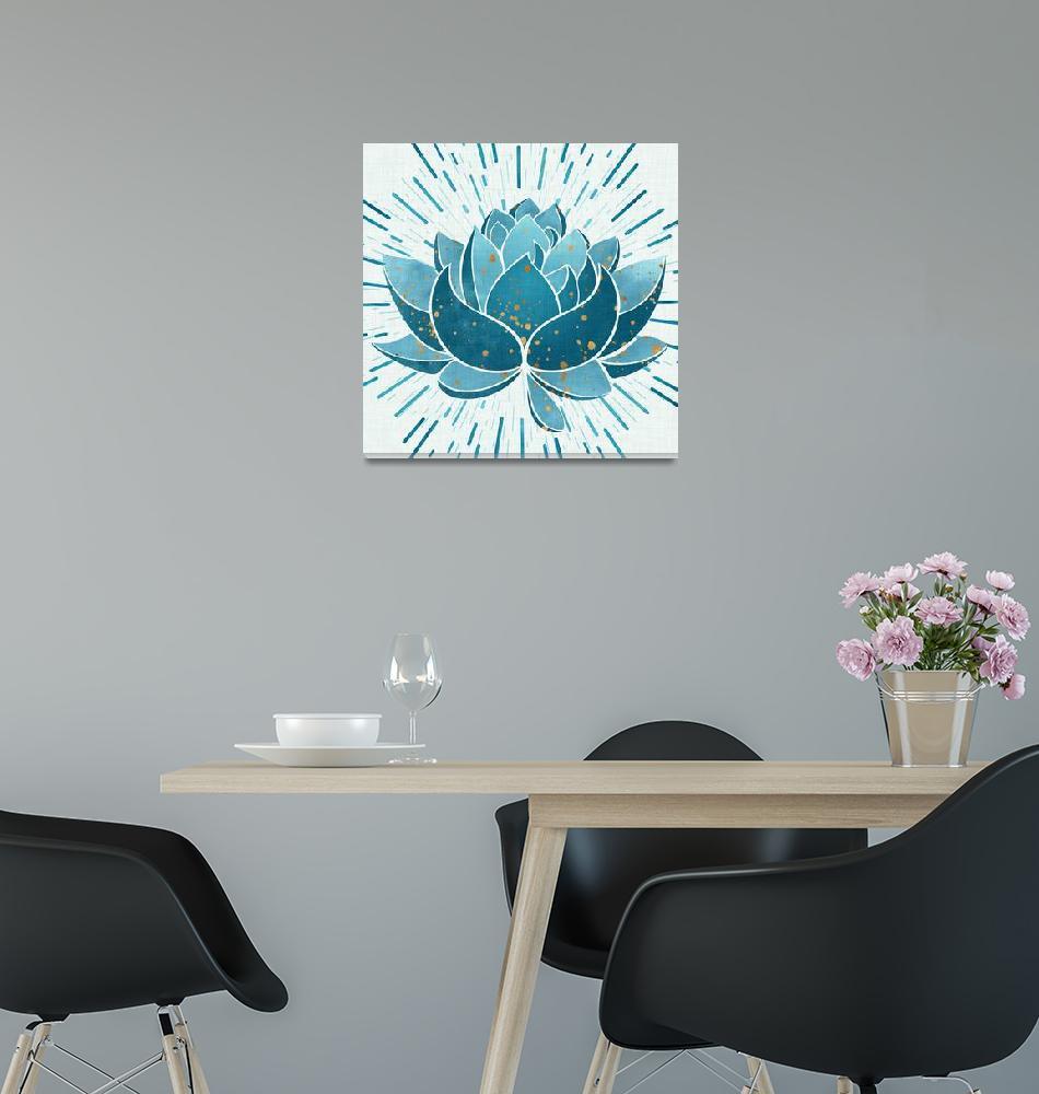 """Blue Blossom""  (2018) by moderntropical"