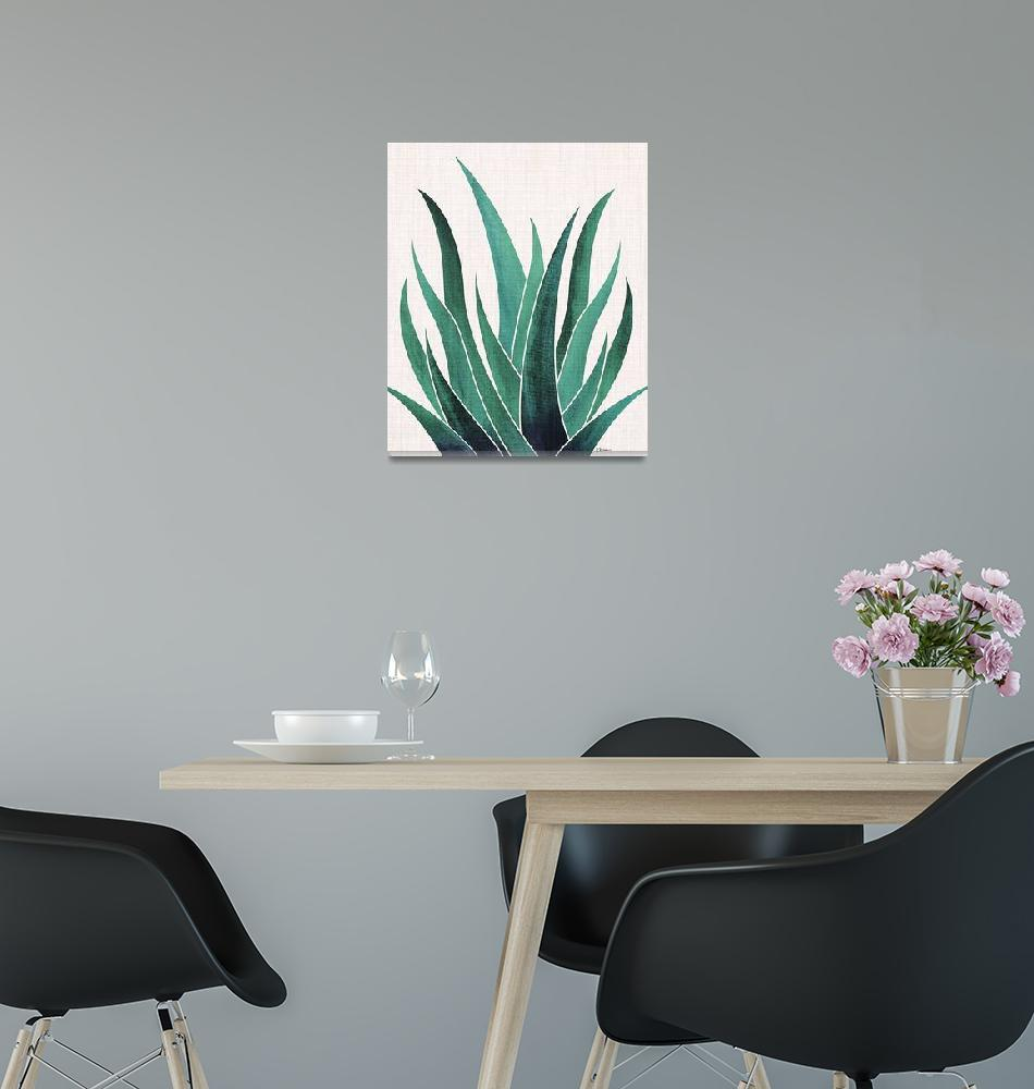 """Desert Agave""  (2018) by moderntropical"