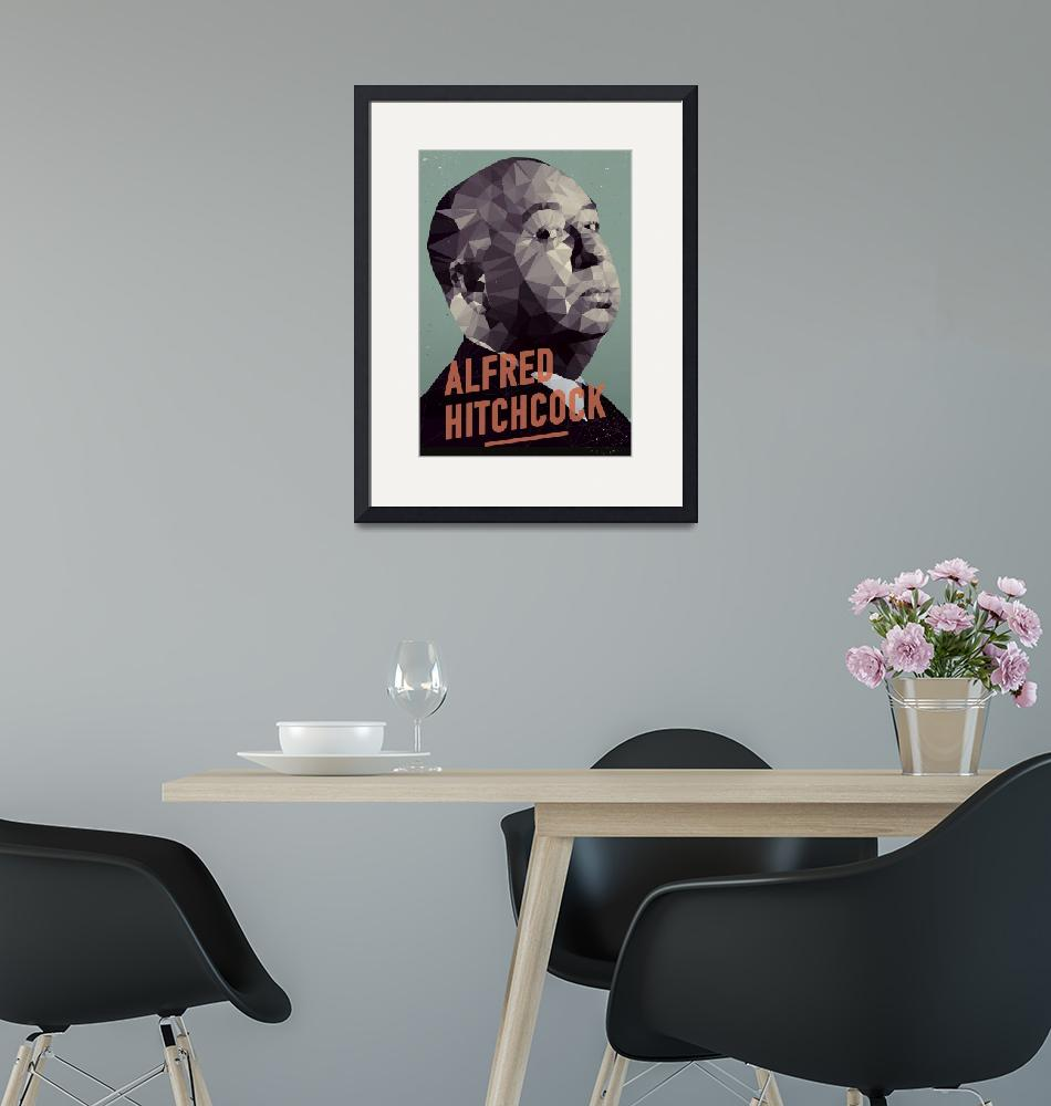 """""""Alfred Hitchcock""""  by artlicensing"""