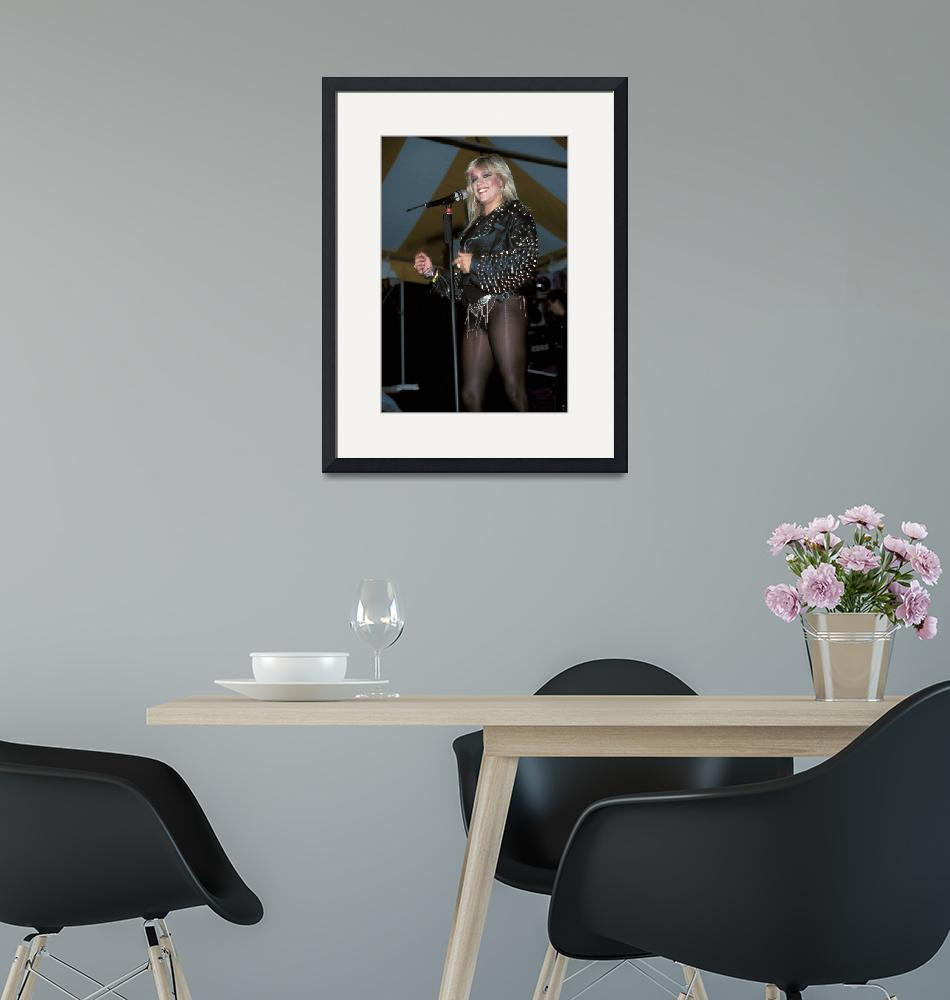 """""""Singer Samantha Fox""""  by FrontRowPhotographs"""