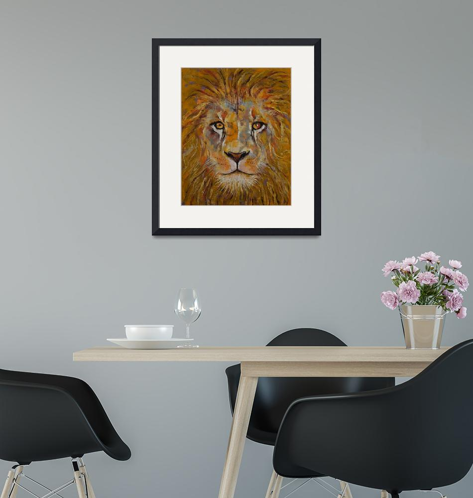 """""""Lion""""  by creese"""