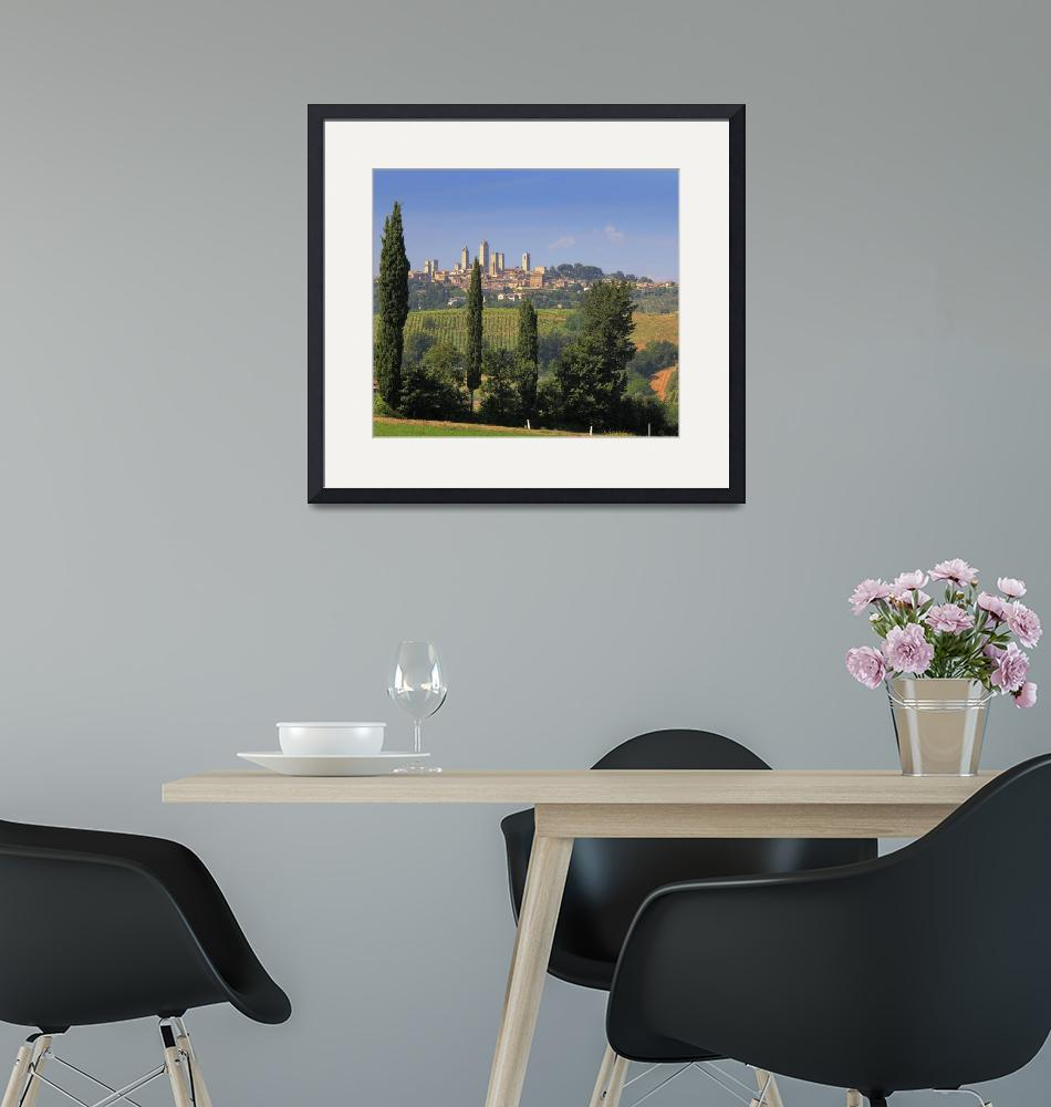 """San Gimignano""  (2010) by Inge-Johnsson"