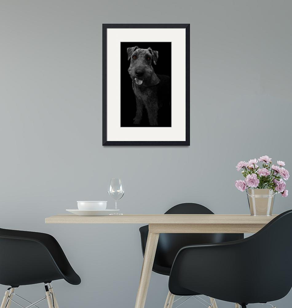 """""""airedale terrier""""  by Bugginout"""