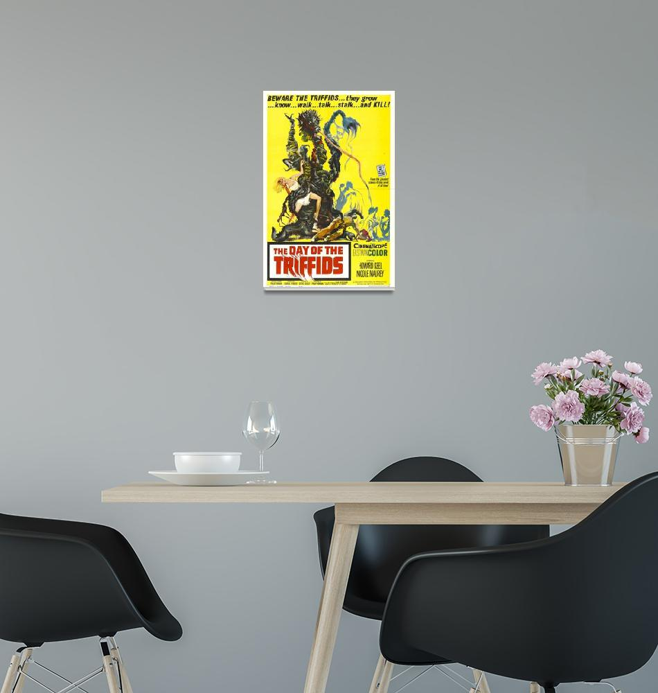 """""""Day of The Triffids Movie Poster""""  by Alleycatshirts"""