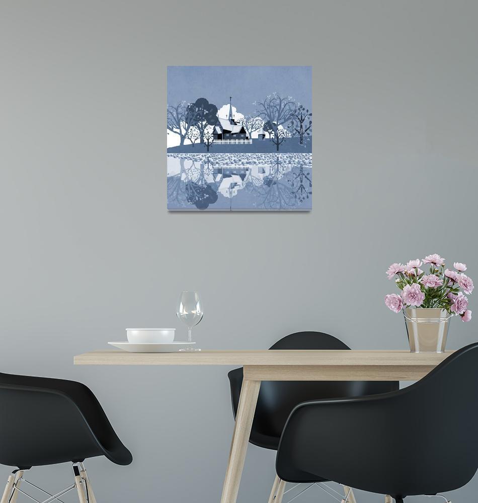 """Norway - Landscape 121""  (2019) by Design4uStudio"