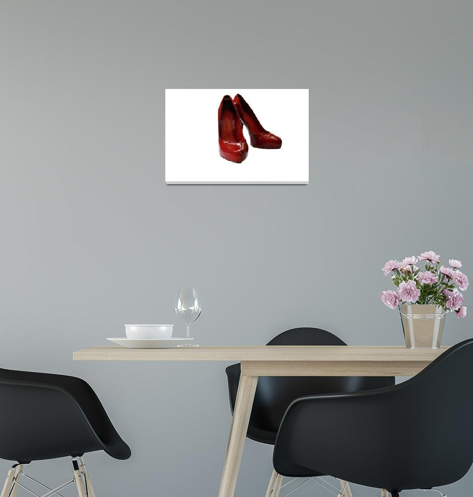 """""""red shoes copy""""  (2009) by lj1980s"""