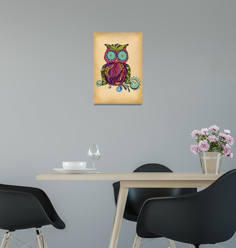 """""""Owl""""  by artlicensing"""