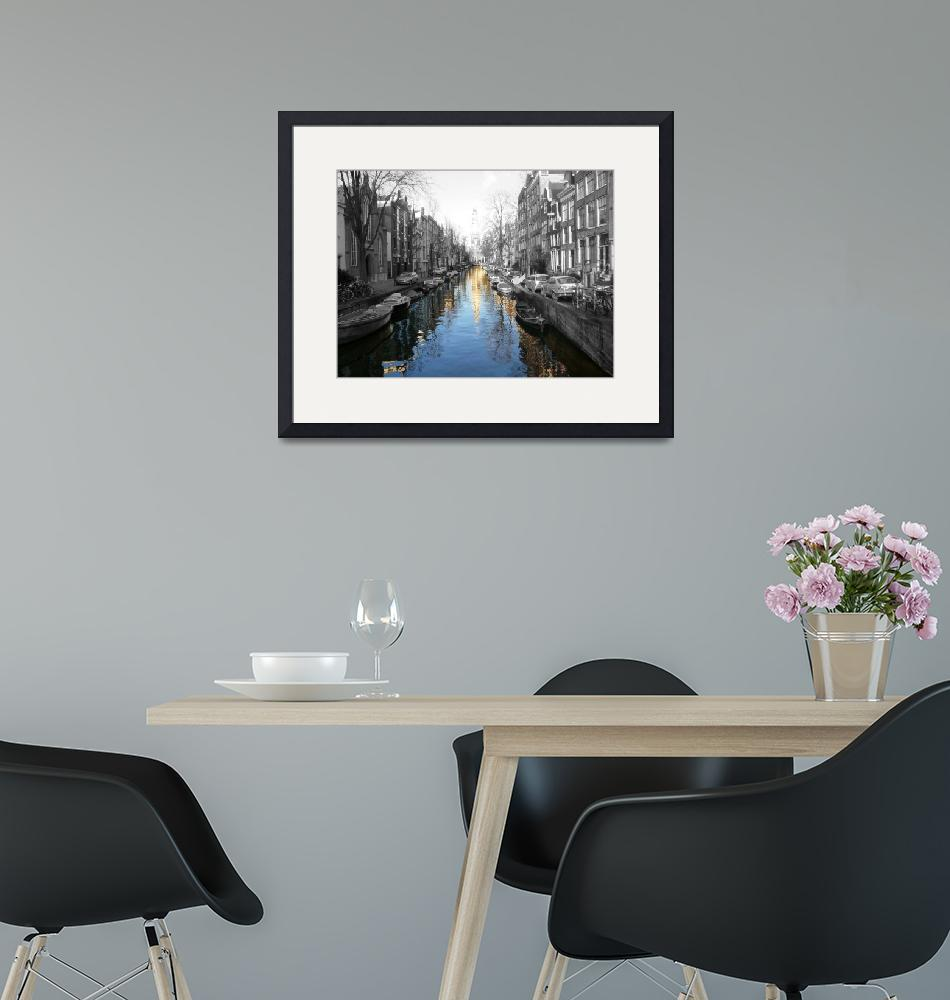 """""""Amsterdam Canal""""  (2009) by klewis"""