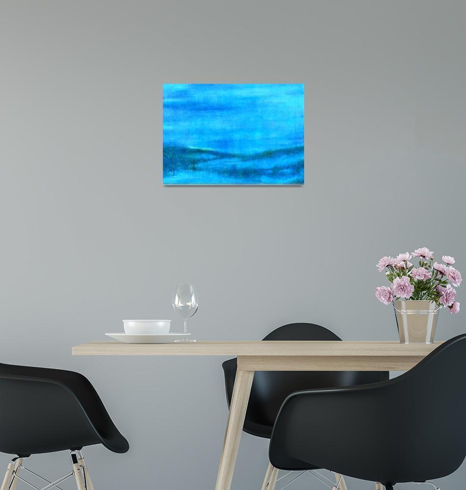 """BLUE DUSK""  (2006) by judithcheng"