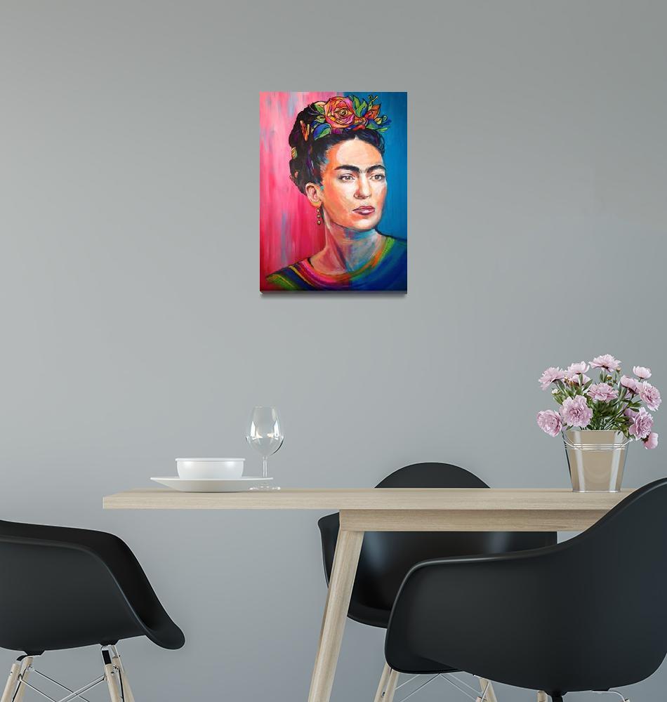 """Frida Kahlores""  (2013) by gillybrennan"