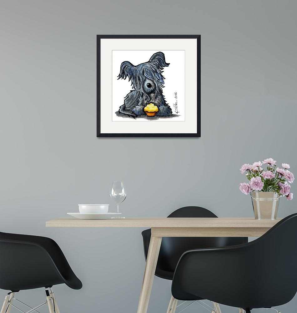 """Skye Terrier""  (2006) by KiniArt"