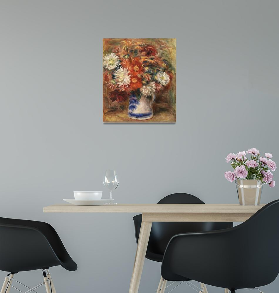 """Bouquet by Renoir"" by FineArtClassics"