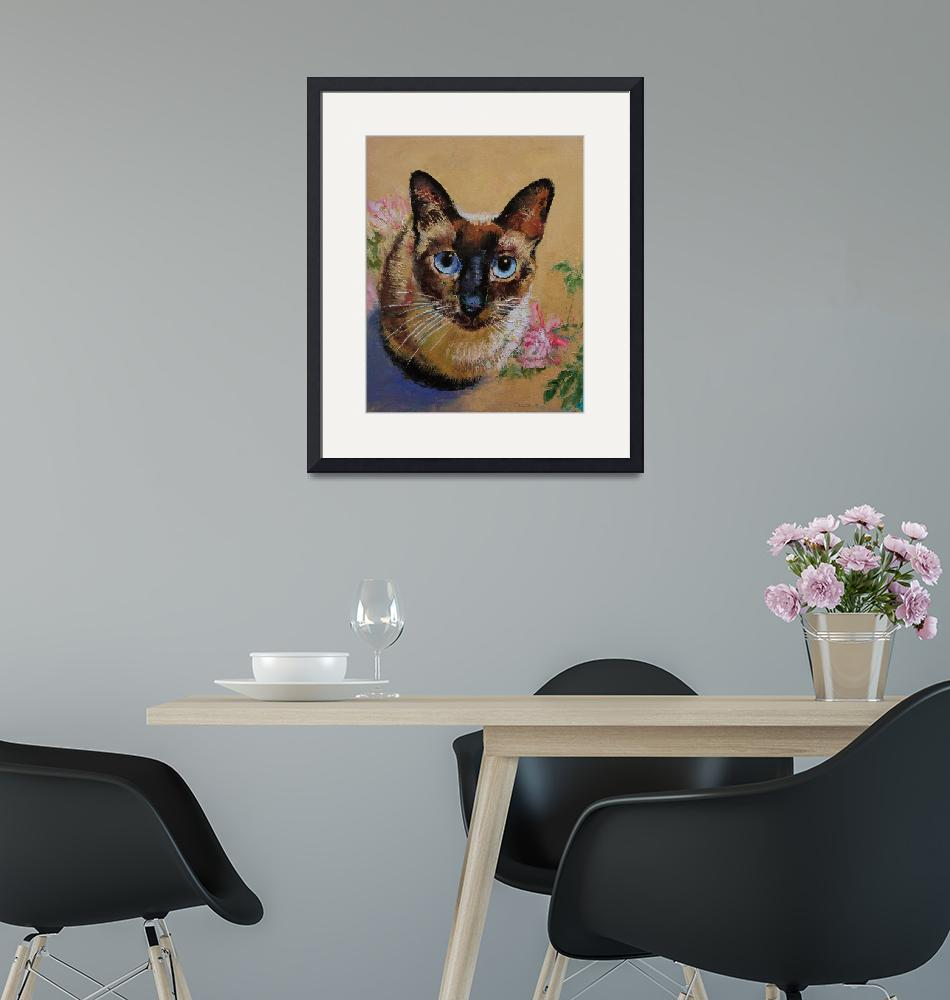 """""""Siamese Cat""""  by creese"""