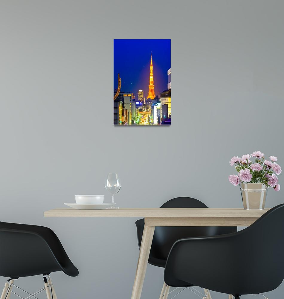 """Tokyo Tower""  (2011) by Artscena"