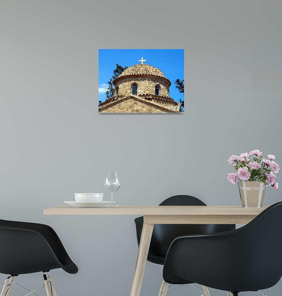 """Monastery of Saint Barnabas Dome""  by Artsart"