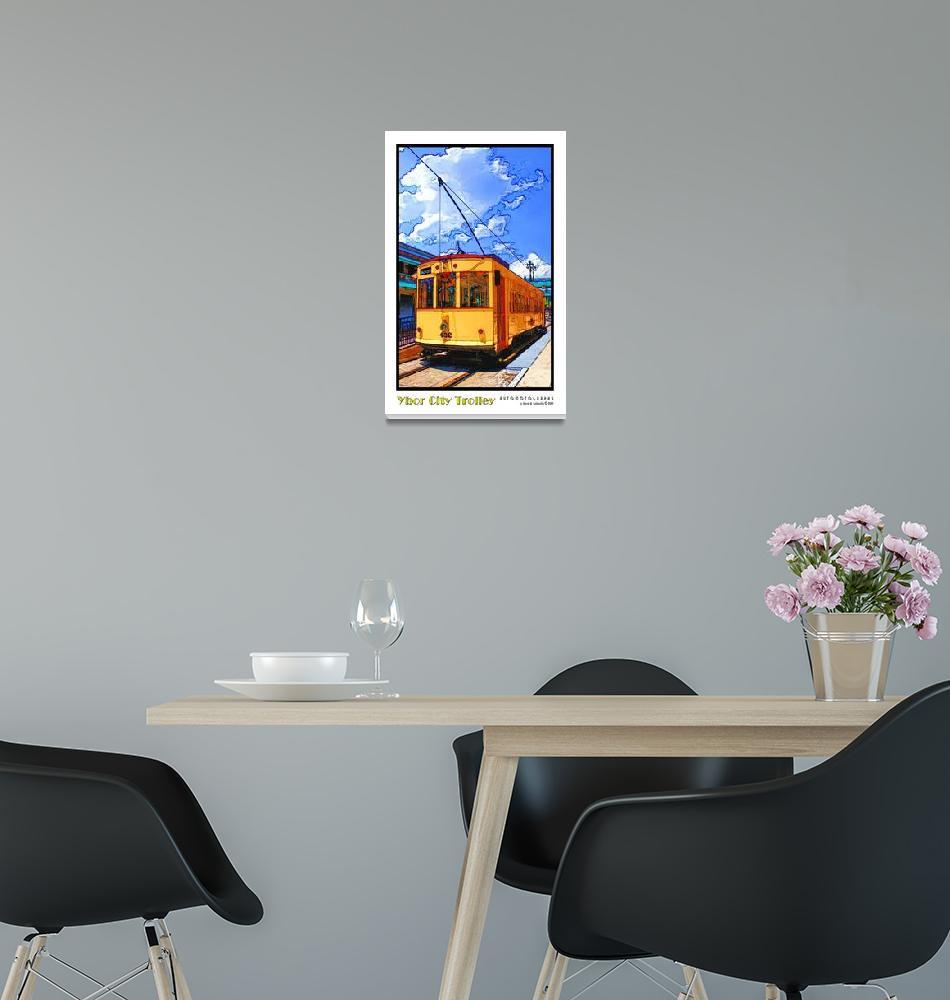 """Ybor City Trolley""  (2009) by Automotography"