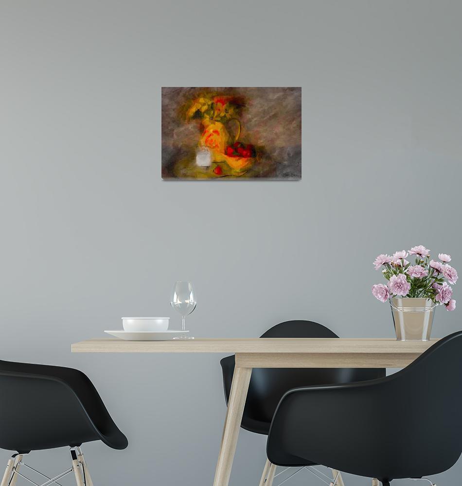"""""""Still Life Digital Painting""""  (2016) by GregB"""