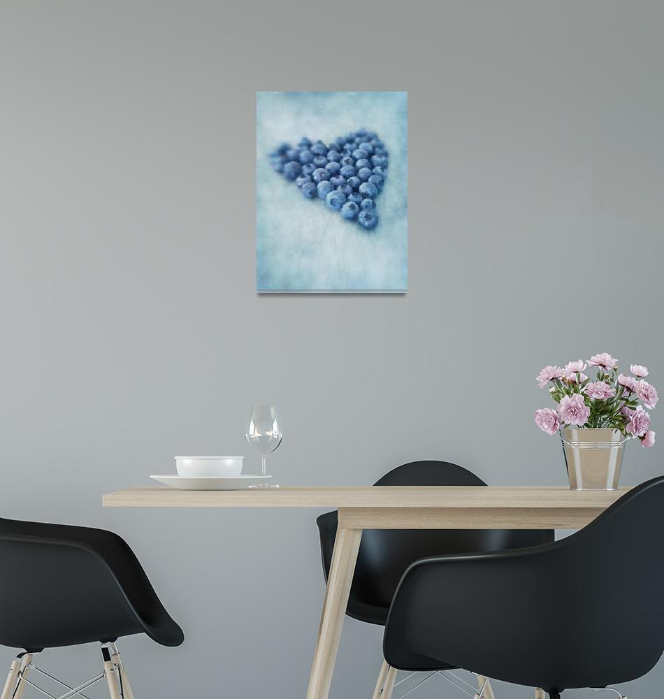 """I love blueberries""  by Piri"