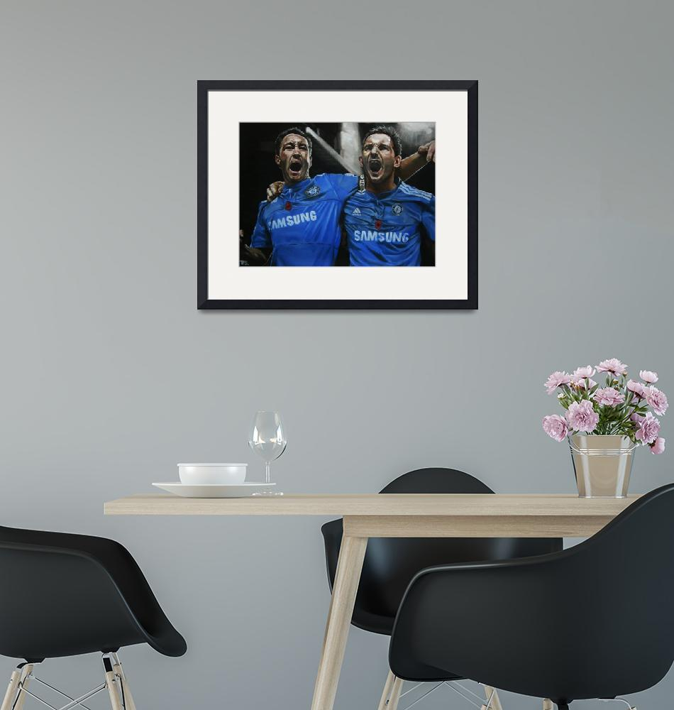 """""""Terry and Lampard""""  (2010) by artfromtom"""