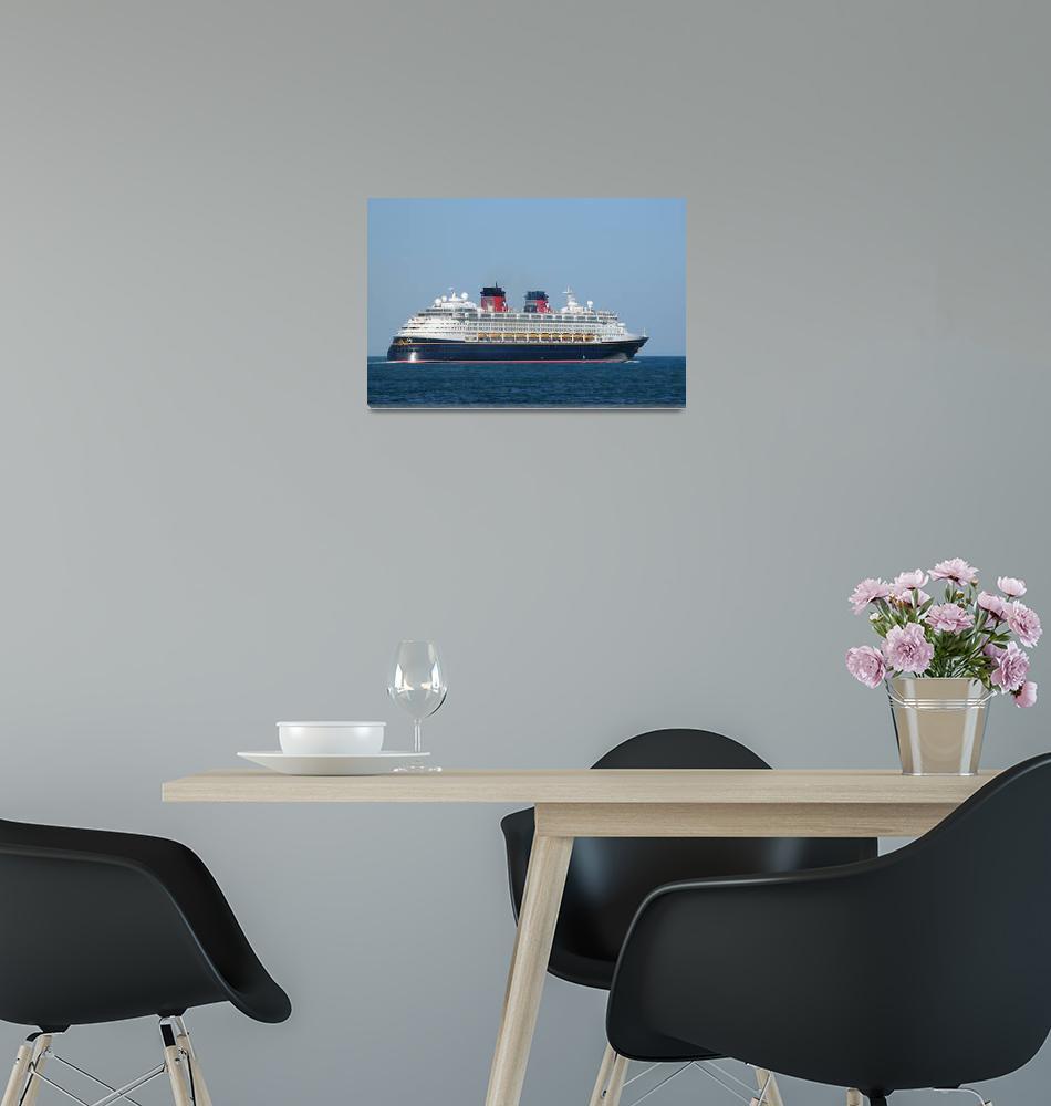 """Disney Magic Cruise ship""  (2009) by Landbysea"