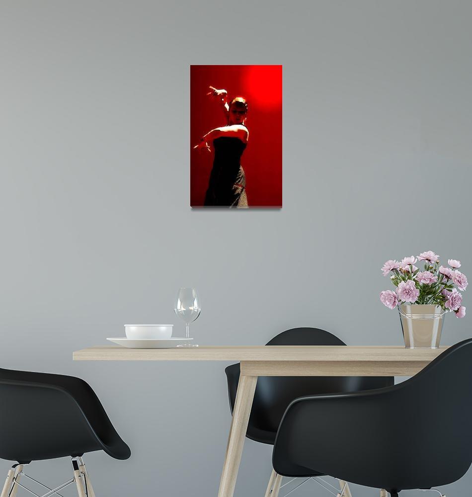 """Flamenco artist""  (2007) by JohnEmmaneel"