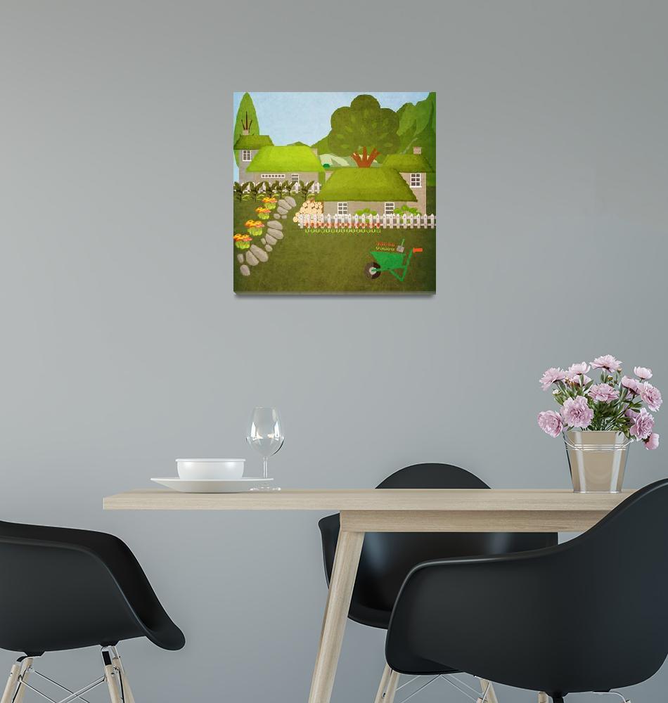 """Norway - Landscape 7""  (2019) by Design4uStudio"