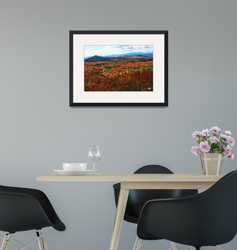 """""""Blue Ridge Parkway""""  by charlieishere"""