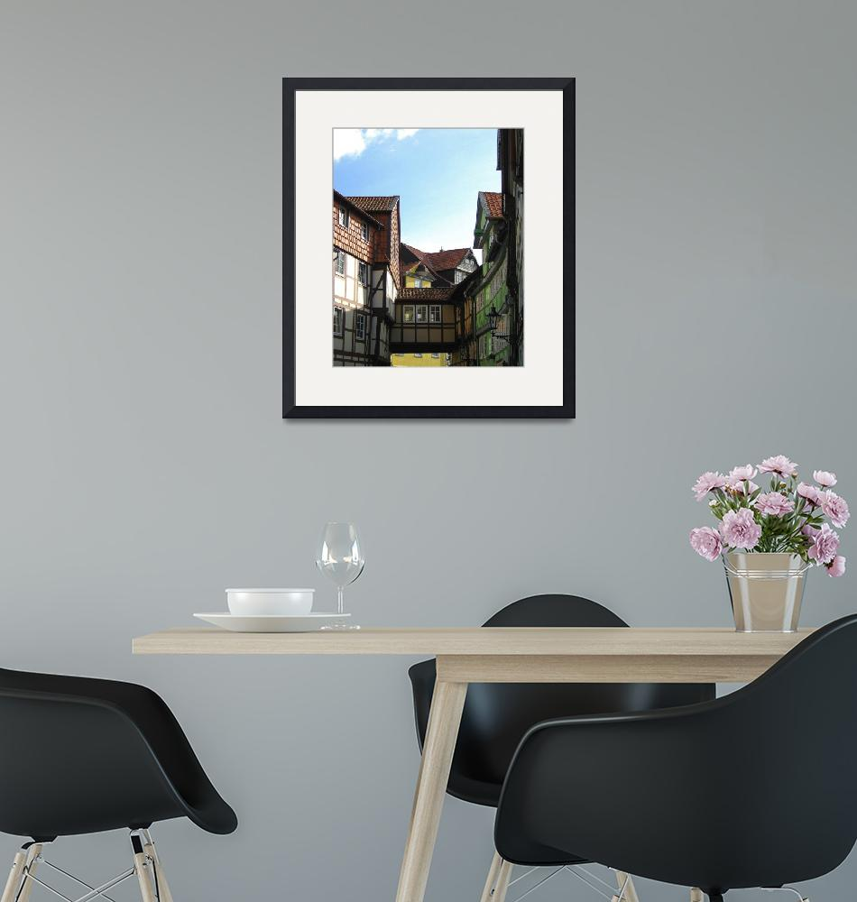 """""""Classic German Wood Frame Architecture""""  (2008) by markdowdell"""