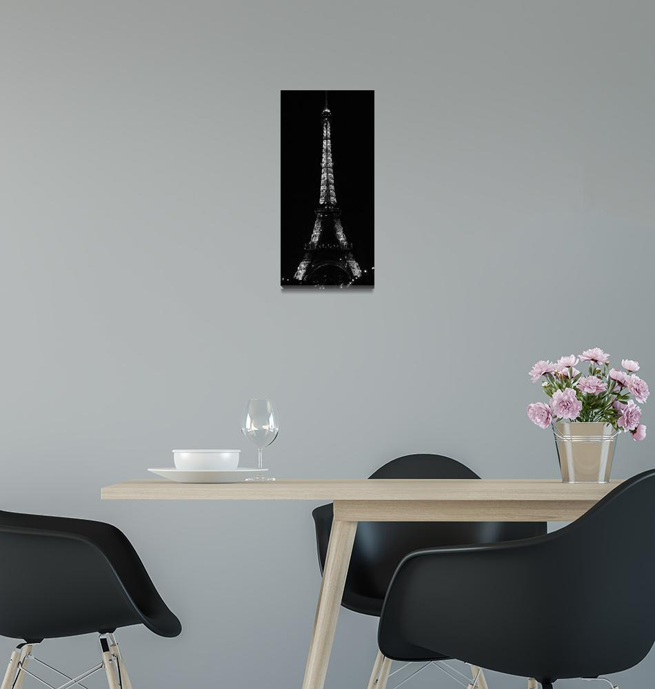 """""""Sparkle Tower in Black & White""""  (2009) by hudsons_photography"""
