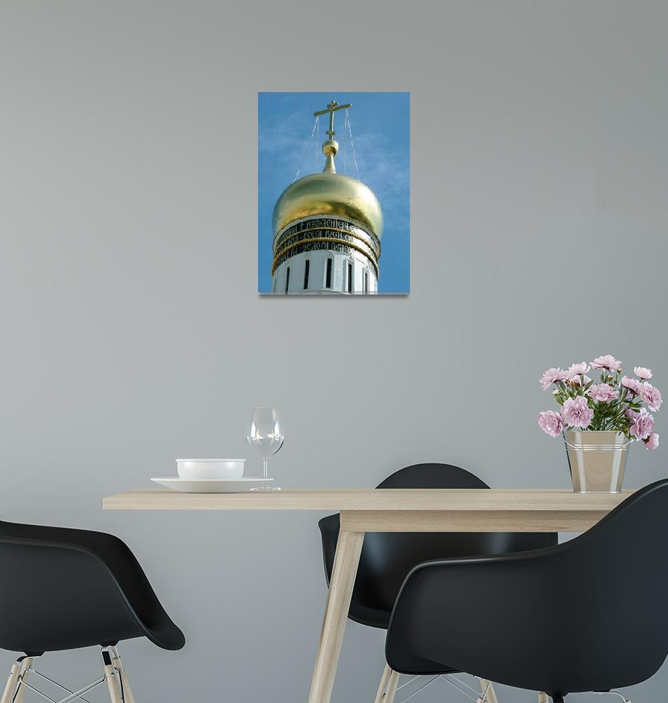 """""""Cupola of a Kremlin Cathedral""""  (2007) by DonnaCorless"""