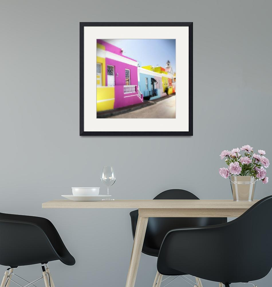 """""""Bo-Kaap, Cape Town, South Africa""""  by NeilOvery"""
