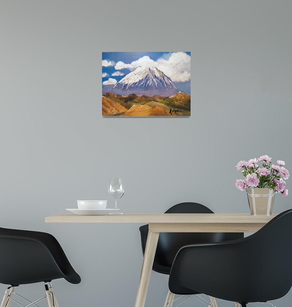 """Mt.Ararat""  by arlen"