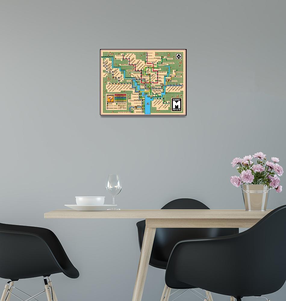 """Washington Metro Map (2018)""  (2014) by originaldave77"