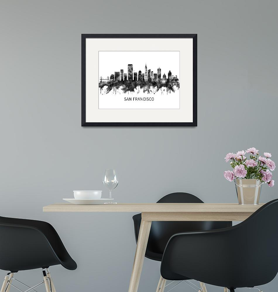 """""""San Francisco Skyline""""  by Towseef"""