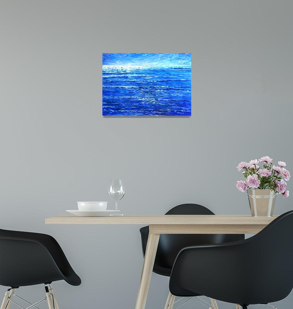 """""""Surfing Surf and Wave Paintings""""  by PeteCaswell"""