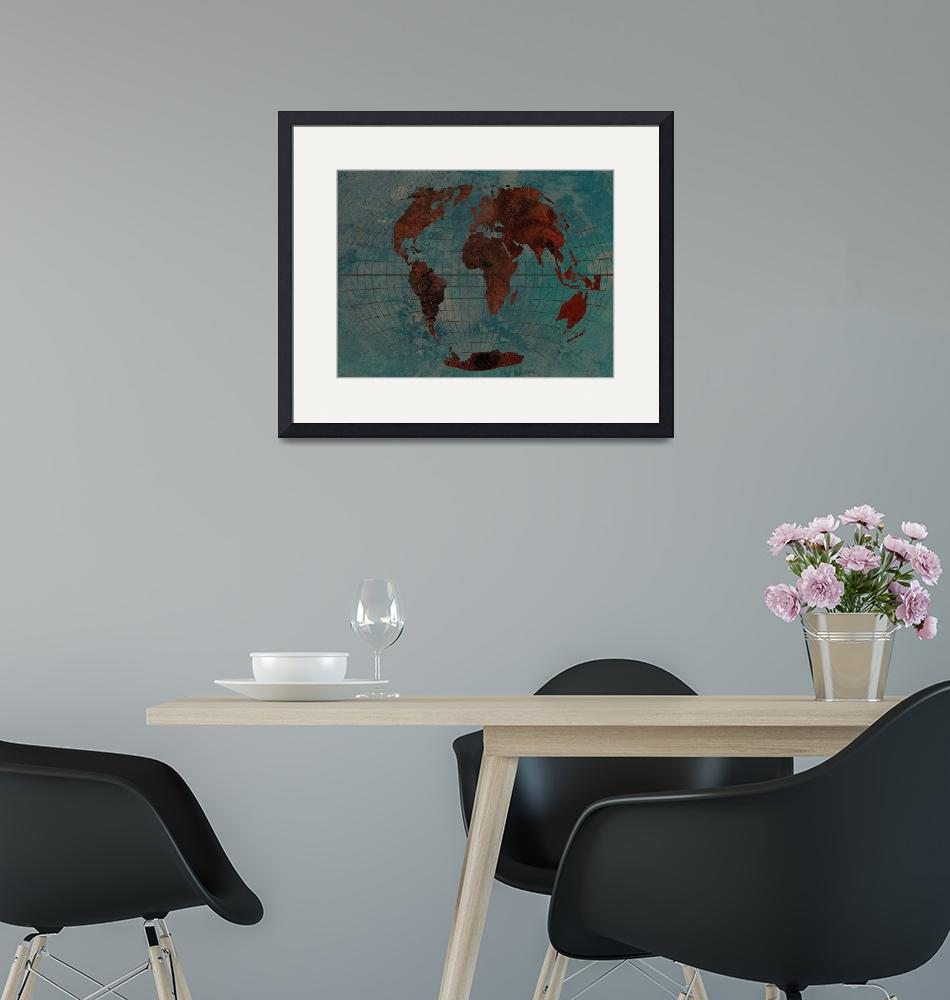 """""""World Map"""" (2013) by Marian1"""