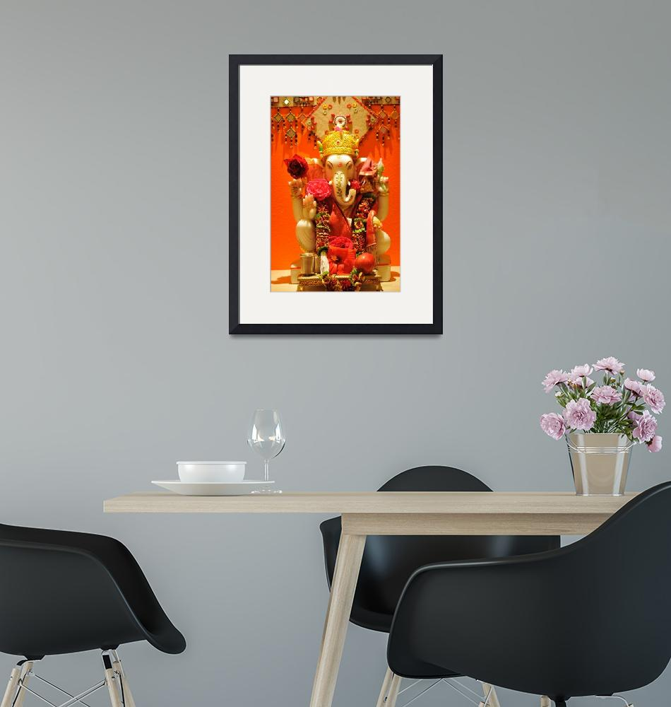 """""""Lord Ganesha""""  (2012) by calphy"""