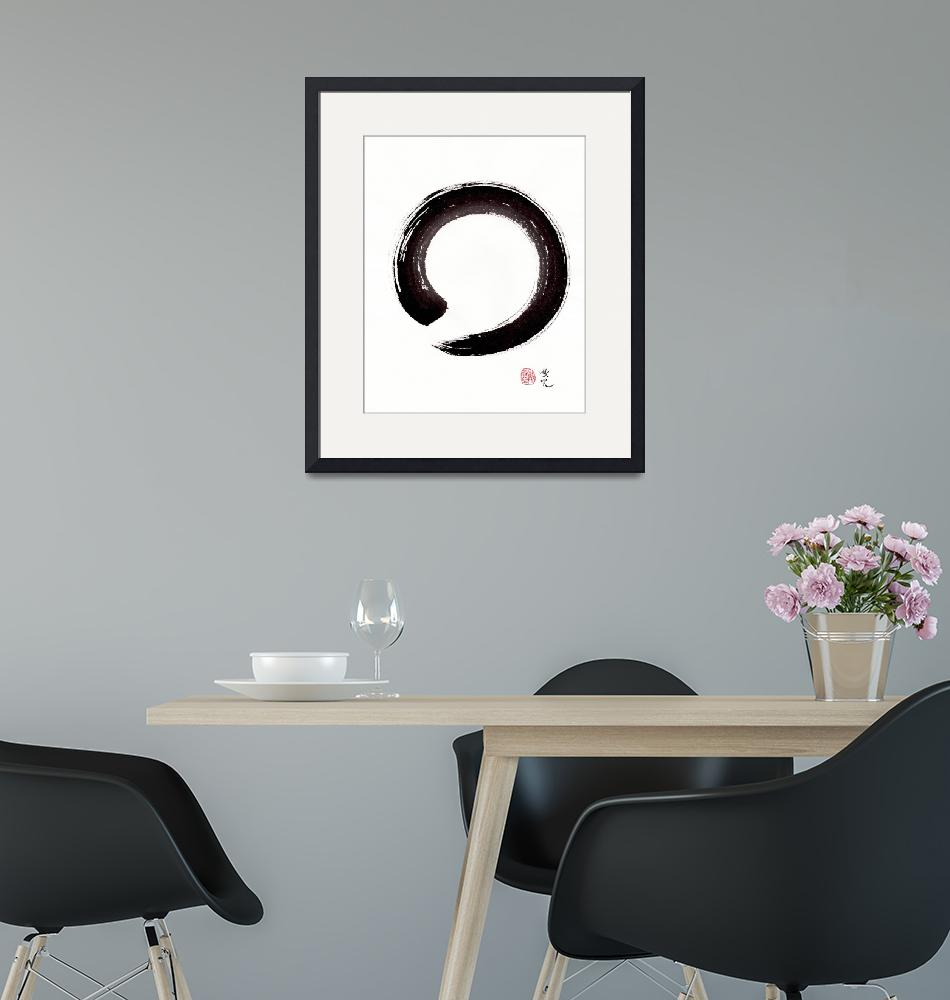 """""""Enso - Embracing Imperfection"""" (2016) by oystudio"""