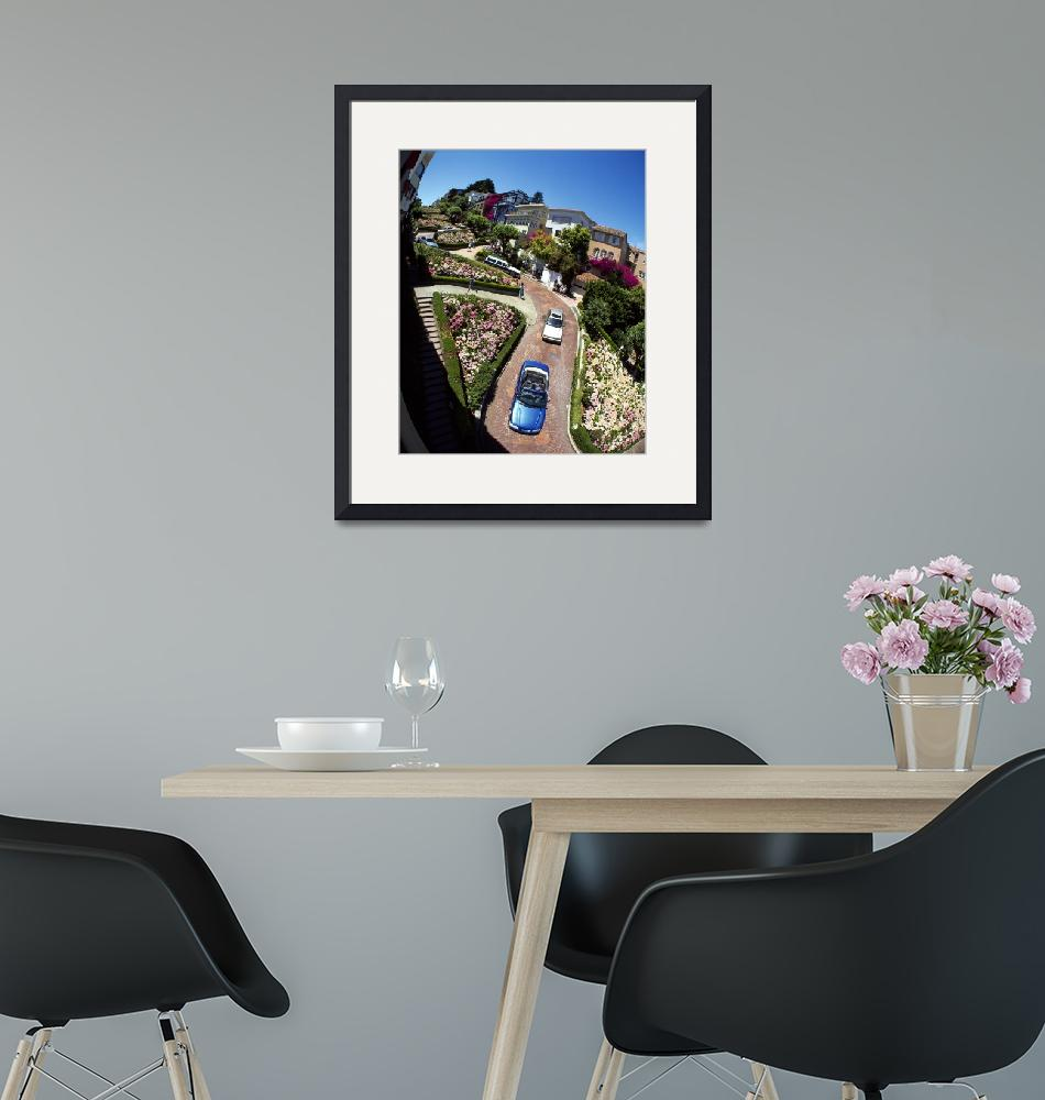 """""""Lombard Street San Francisco CA""""  by Panoramic_Images"""