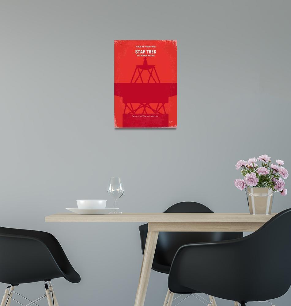 """No081 My Star Trek - 1 minimal movie poster""  by Chungkong"